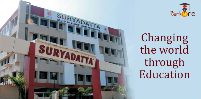 Suryadatta Group of Institutes: Changing the world through Education